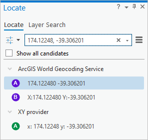 Create points from a table—ArcGIS Pro | ArcGIS Desktop