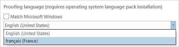 Proofing options—ArcGIS Pro   ArcGIS Desktop