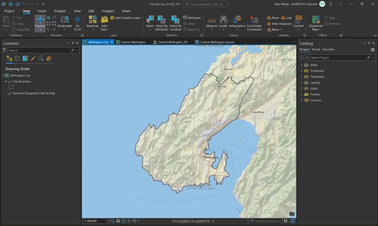 Introducing ArcGIS Pro—ArcGIS Pro | ArcGIS Desktop