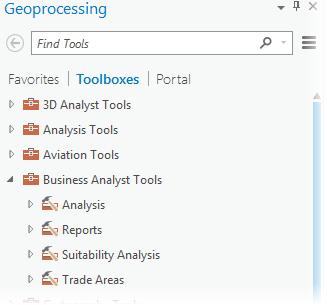 Business Analyst toolbox—ArcGIS Pro | ArcGIS Desktop
