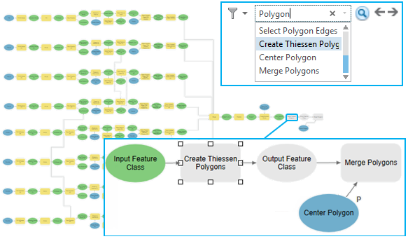 Search and filter elements in a model—ArcGIS Pro | ArcGIS