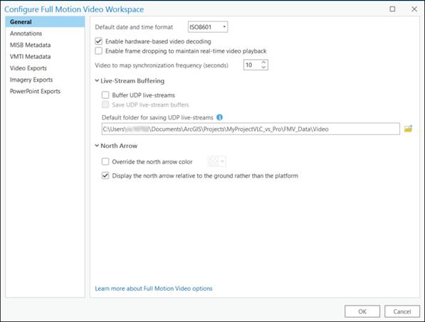 Full Motion Video player—ArcGIS Pro | ArcGIS Desktop