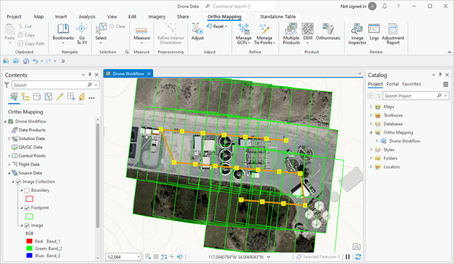 Ortho mapping in ArcGIS Pro—ArcGIS Pro | ArcGIS Desktop