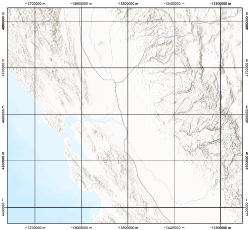 Measured grids—Layouts | ArcGIS Desktop