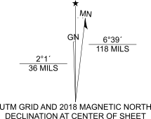 Add the topographic north arrow—ArcGIS Pro | ArcGIS Desktop