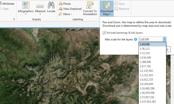 Take a map offline—ArcGIS Pro | ArcGIS Desktop Make Maps Available Offline on print maps, facebook maps, service maps, online interactive maps, advertising maps,