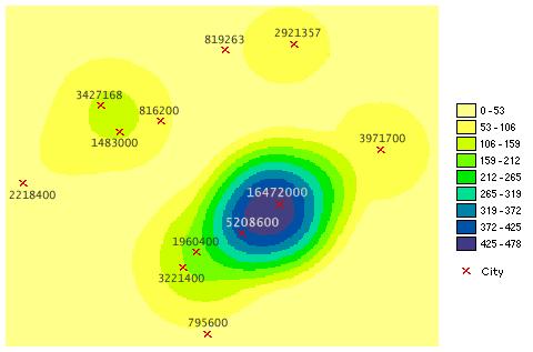 Understanding Density Analysis Help Arcgis Desktop
